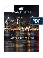 Información Curso Gane Dinero en Bolsa de Alberto Chan