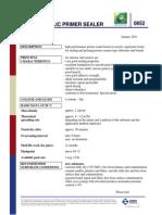 0852 Sigma Acrylic Primer Sealer