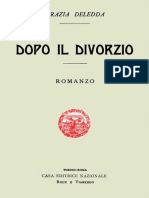 Dopo Il Divorzio (Deledda)