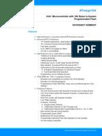 ATmega16A Datasheet Summary