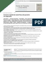 Consenso Español de Salud Fisica en Pcte Con Depresion