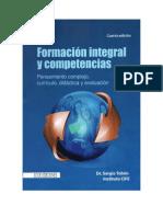 Formacion Integral y Competencias. Tobon