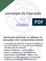 Sociologia Da Educação - Apresentação