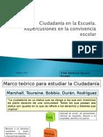 Ciudadanía en La Ecuela