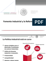 08 Fomento Industrial y La Reforma Energetica