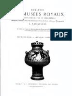 Découverte d'un 'trésor' à Muysen (province de Brabant) / [Alfred de Loë]