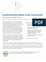 Bank Loan Covenants Primer