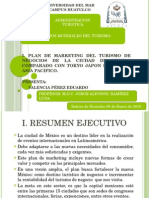 Plan de Marketing Ciudad de México