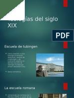 Teologias Del Siglo XIX