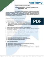 VICTORY INGENIERIA Y GESTION LTDA - PROTOCOLO DE MANTENIMIENTO A UPS´s