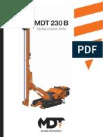 Depliant MDT 230 B