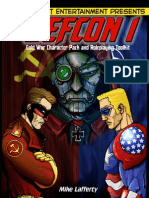 M&M Superlink 2Ed - DeFCON 1 (Cold War Character Pack and Roleplaying Toolkit)