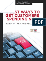 5 Best Ways to Get Customers Spending Now