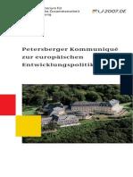 Broschuere Petersberg