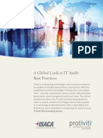 A Global Look at IT Audit Best Practices