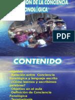 ESTIMULACION DE LA CONCIENCIA FONOLOGICA