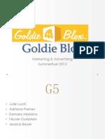 Goldie Blox Marketing Report
