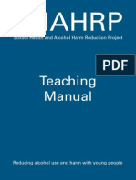 SHAHRP Teachers Manual