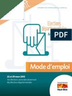 Guide des Elections Departementales 2015 Wittenheim