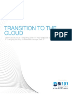 Transition to the Cloud - Bi101