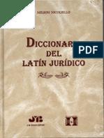 Diccionario Del Latin Juridico-libre