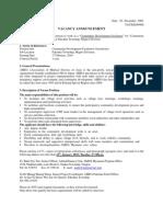 AMDA Community Development Facilitator Jobs Vacancy For Myanmar Nationality