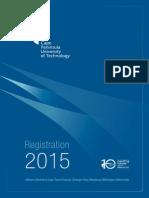 Registration Booklet 2015
