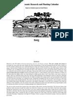 Biodynamic Planting Calendar 2015