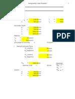 Design of Eurocode Columnxlsx