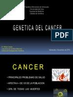 Tema 4. Genetica Del Cancer, Noviembre 2014