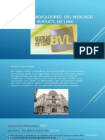 01. Indice e Indicadores Del Mercado Bursatil de Lima