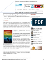 """Entrevista a Andrea Hirata Por """"La Tropa Del Arco Iris"""" _ Culturamas, La Revista de Información Cultural"""