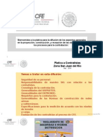 CURSO CFE 2014. PROCESO DE OBRAS POR TERCEROS