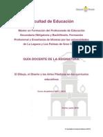 El Dibujo, El_diseño y Las Artes Plásticas en Los Currículos Educativos