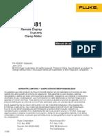 Fluke 381 Manual Español