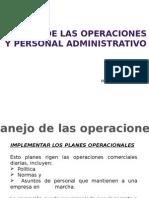 Clase 4. Manejo de Las Operaciones y Personal Advo. 2015