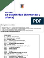 Tema 8 La Elasticidad II 2014
