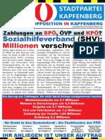 FPÖ Kapfenberg Aussendung Dezember 2014 - Kapfenberg