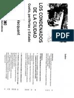 Prologo Los Condenados de La Ciudad L Wacquant (1)