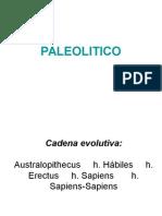 Historia del arte. Paleolítico.