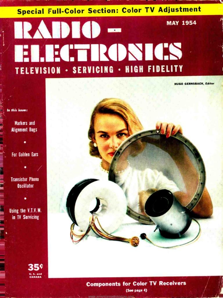 Radio Electronics 1954 05 Technology The Builder Mw Receiverreflexive Radio2t