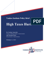 High Taxes Hurt