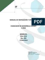 Manual Chancador