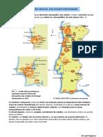 Repartição espacial das cidades portuguesas (11.º)