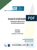 HAZADR Scenarios Oil-spill Simulation APULIA REGION
