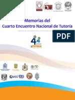 Memorias Cuarto Encuentro Nacional de Tutorias