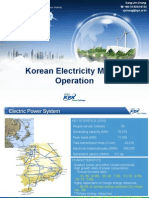 Korean Electricity Market