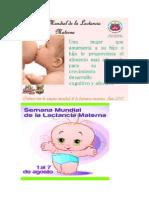 Lactancia Materna y Nutrición