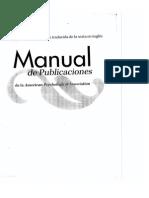 Manual de Publicaciones APA