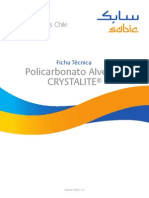 SABIC Chile Ficha Tecnica Policarbonato Alveolar CRYSTALITE 20130109